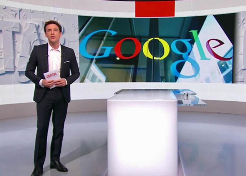 google a ouvert ses portes m6 pour capital un reportage