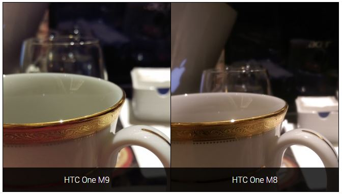 comparatif photo HTC One M9 vs HTC One M8