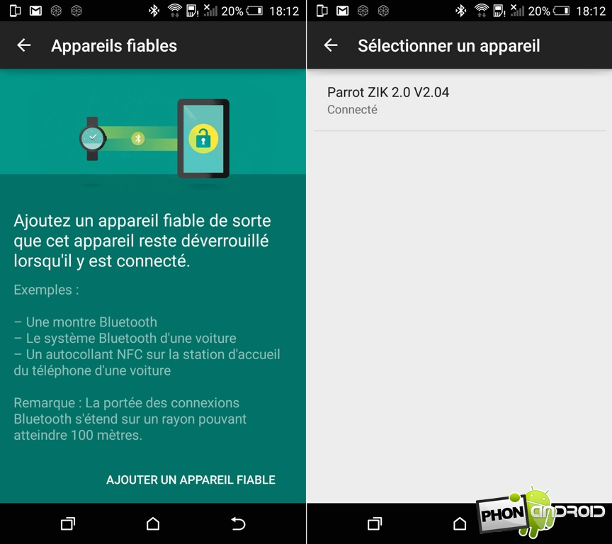 htc one m9 appareil fiable