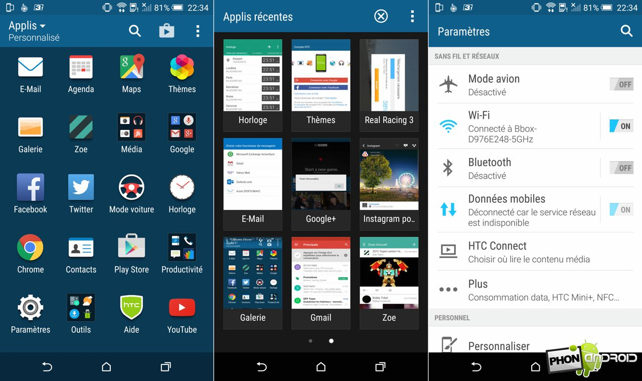 htc one m9 application