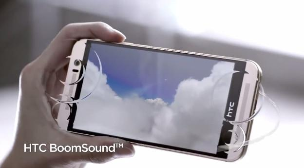 HTC One M9 et le BoomSound