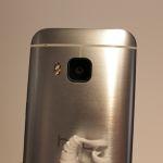 HTC One M9 avec capteur photo