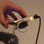 HTC One M9 avec coque en metal