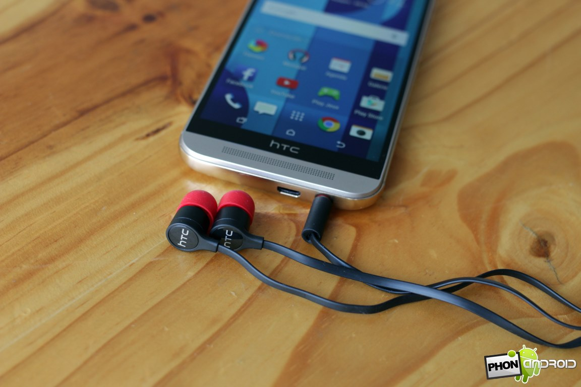 htc one m9 ecouteur intra auriculaire