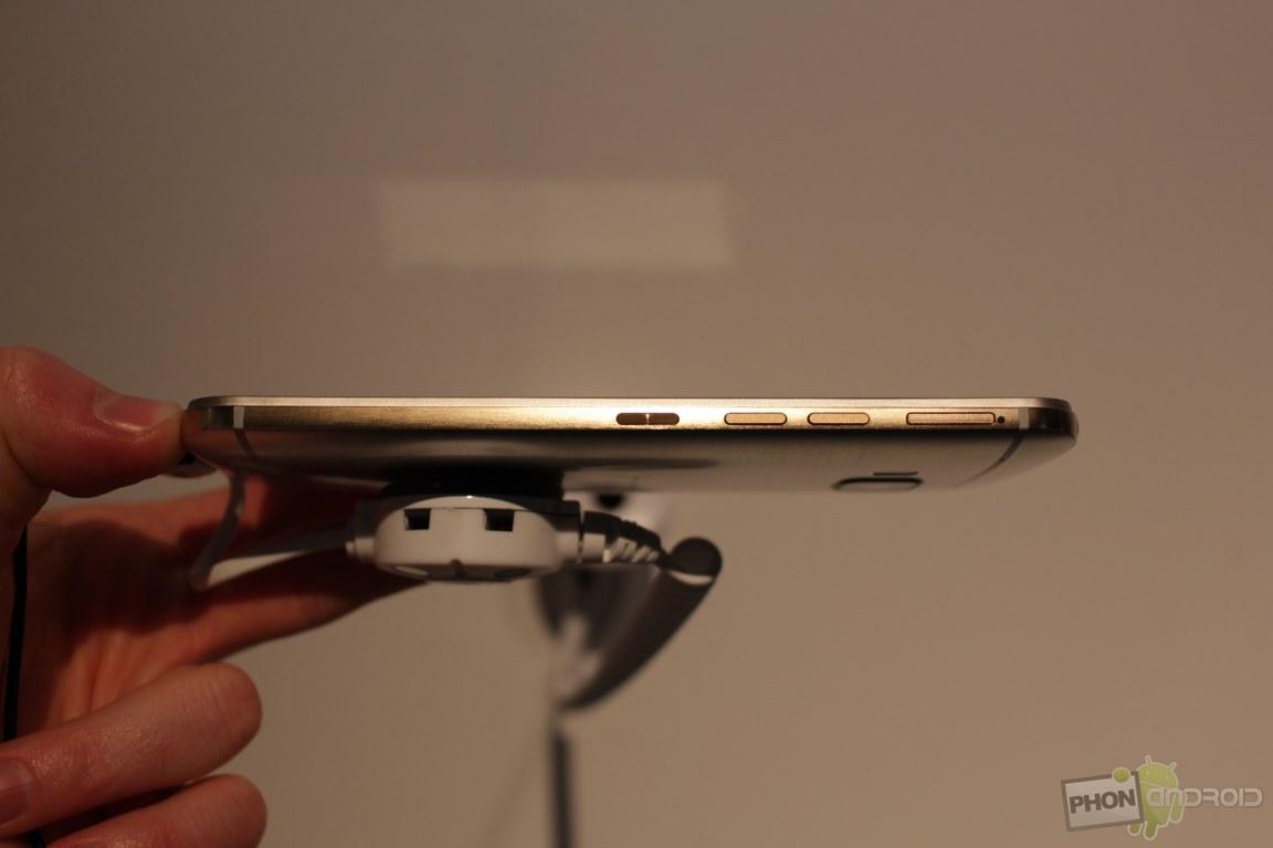 HTC One M9 avec sa finesse