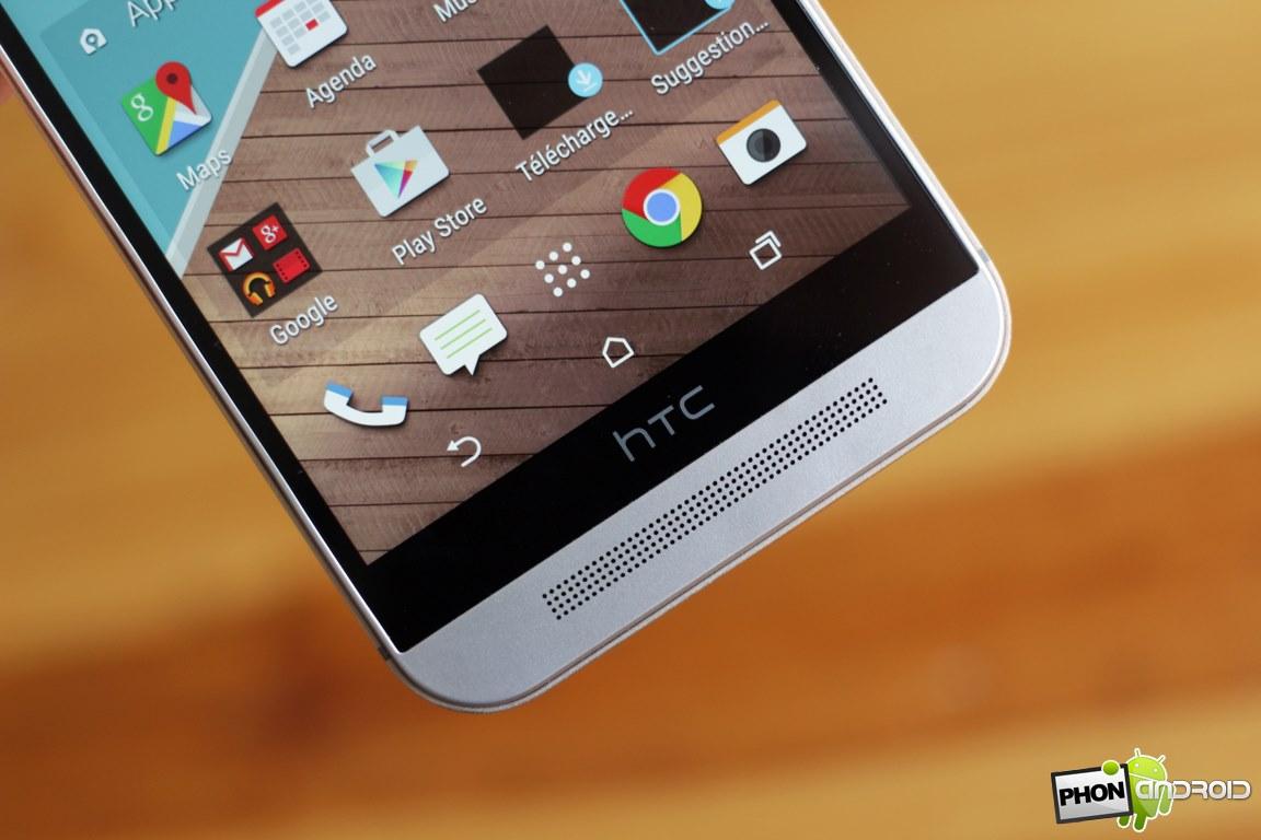 HTC One M9 haut-parleur