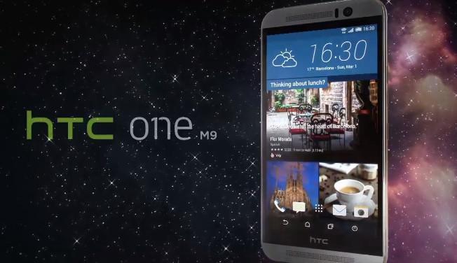 HTC One M9 au MWC 2015