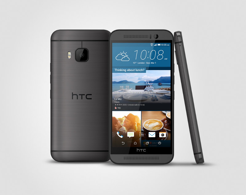 HTC One M9 en noir