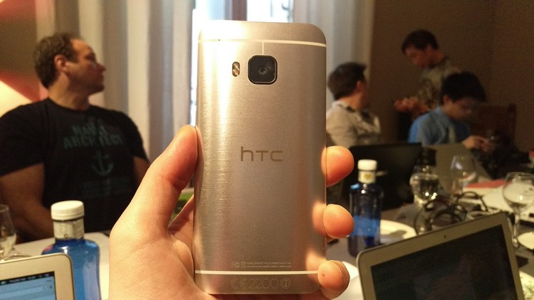 HTC One M9 les photos