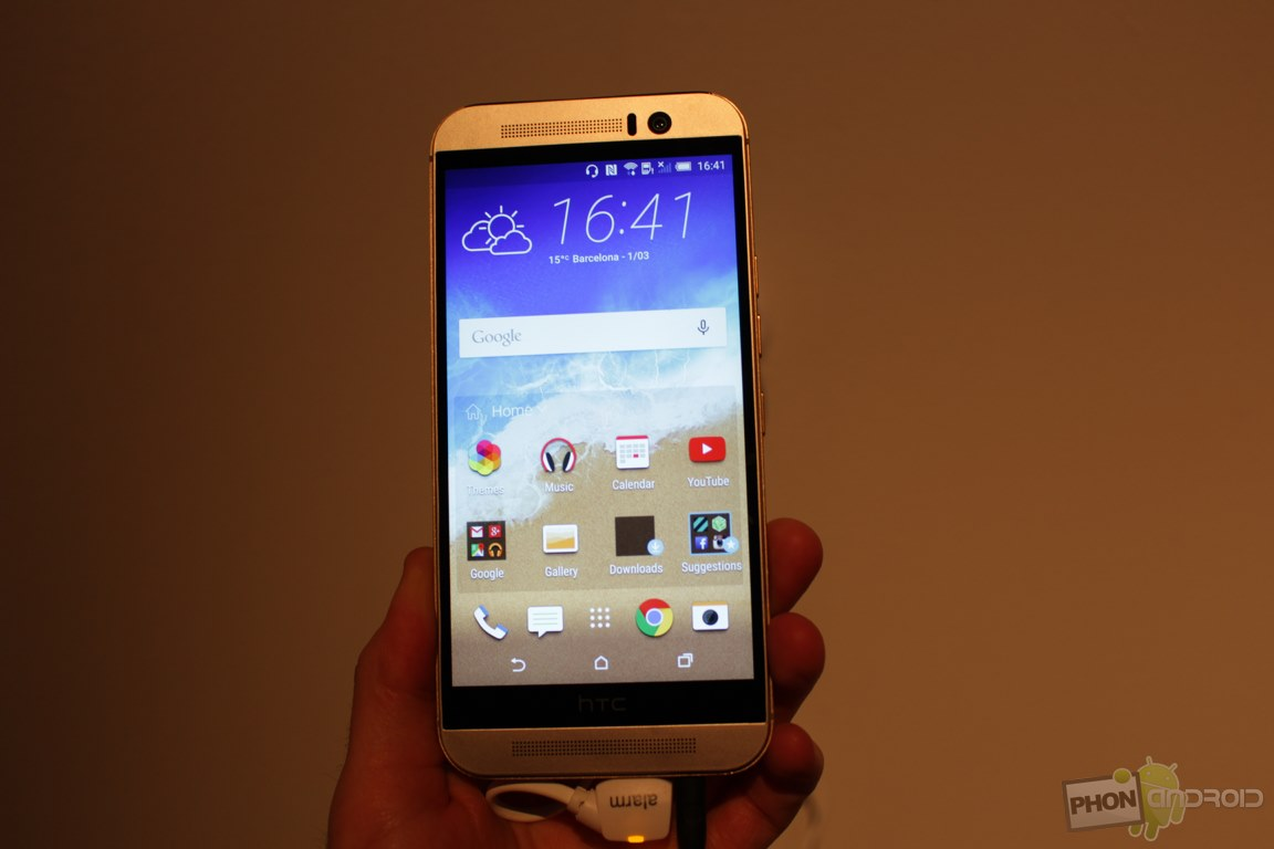 HTC One M9, la prise en main