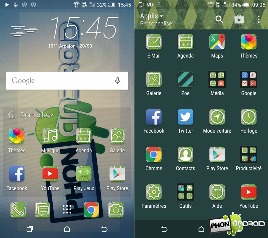 htc one m9 theme phonandroid