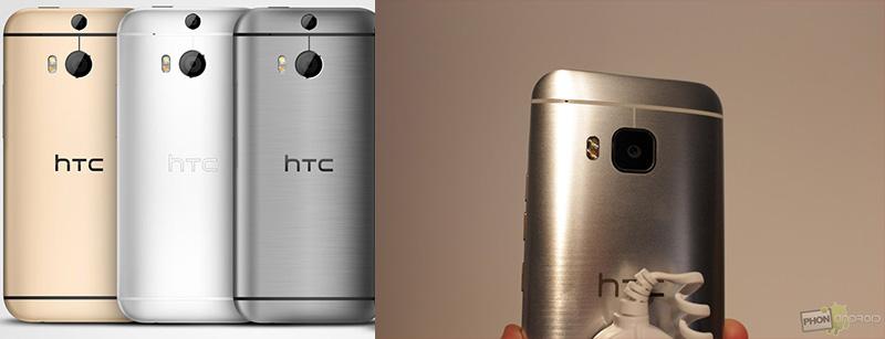 htc one m9 vs htc one m8 appareil photo