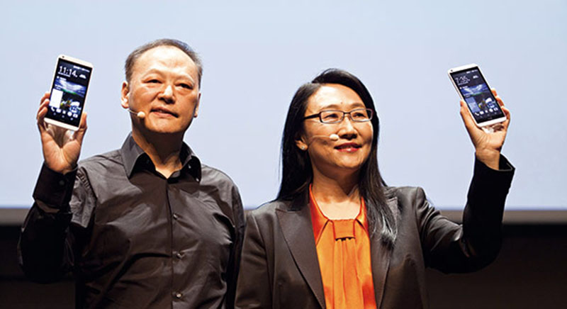 htc ceo peter chou remplace