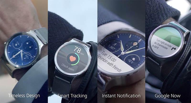 huawei watch fonctionnalités