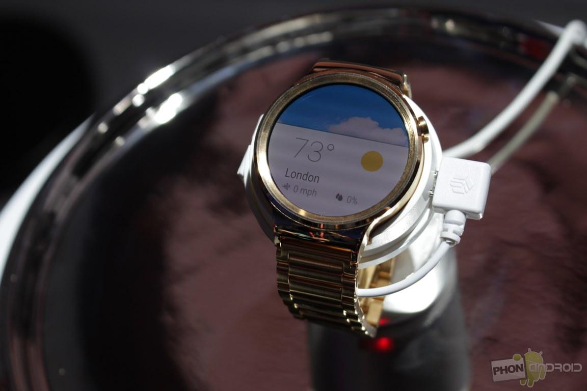 Huawei Watch prix date de sortie