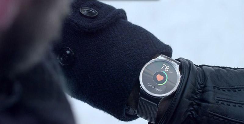 huawei watch rythme cardiaque