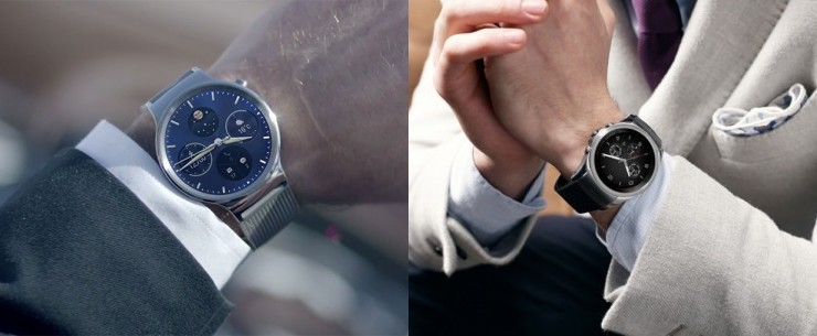 Huawei Watch vs LG Watch Urbane