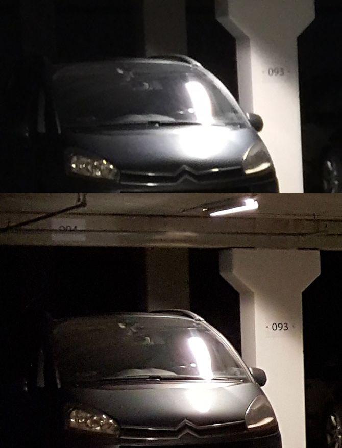 comparatif iPhone 6 Galaxy S6 Edge parking