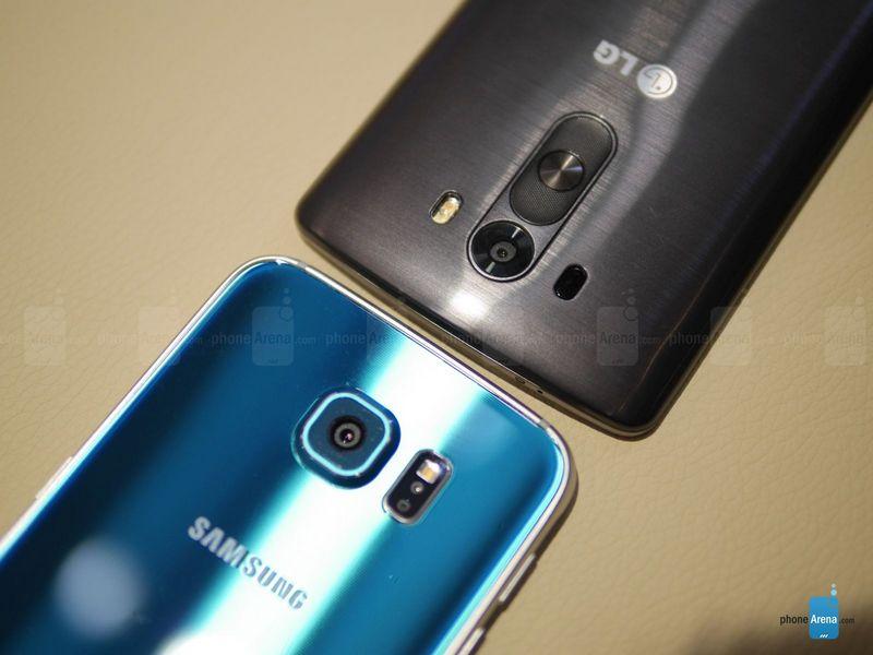 capteur photo Galaxy S6 LG G3