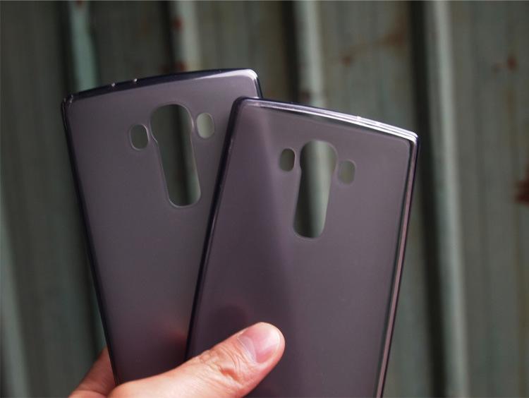 LG G4 incurvé, les coques