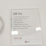 LG Joy, la fiche technique