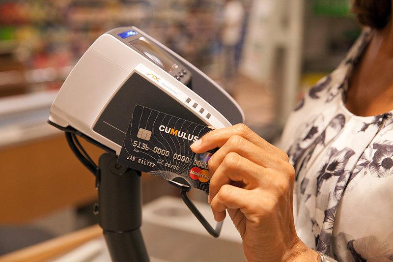 NFC, le paiement sur une borne