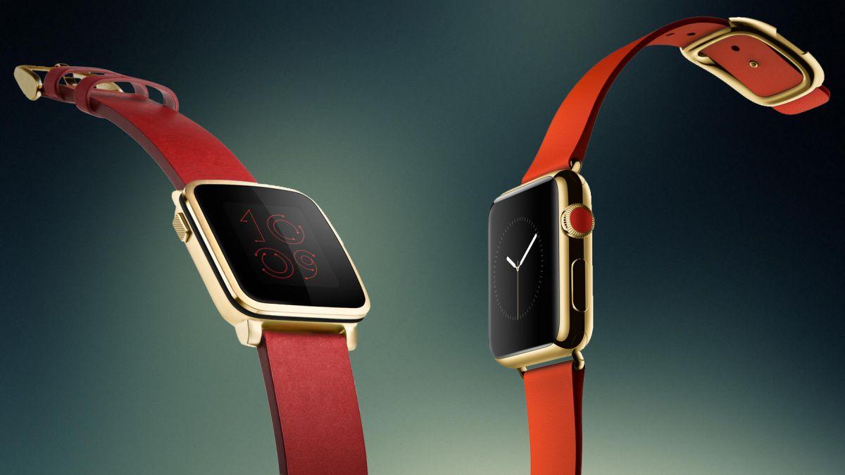 Pebble Apple Watch