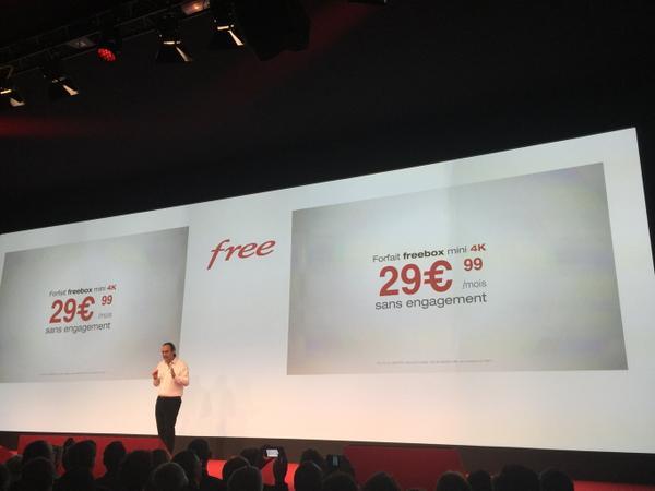 prix Freebox Mini 4K