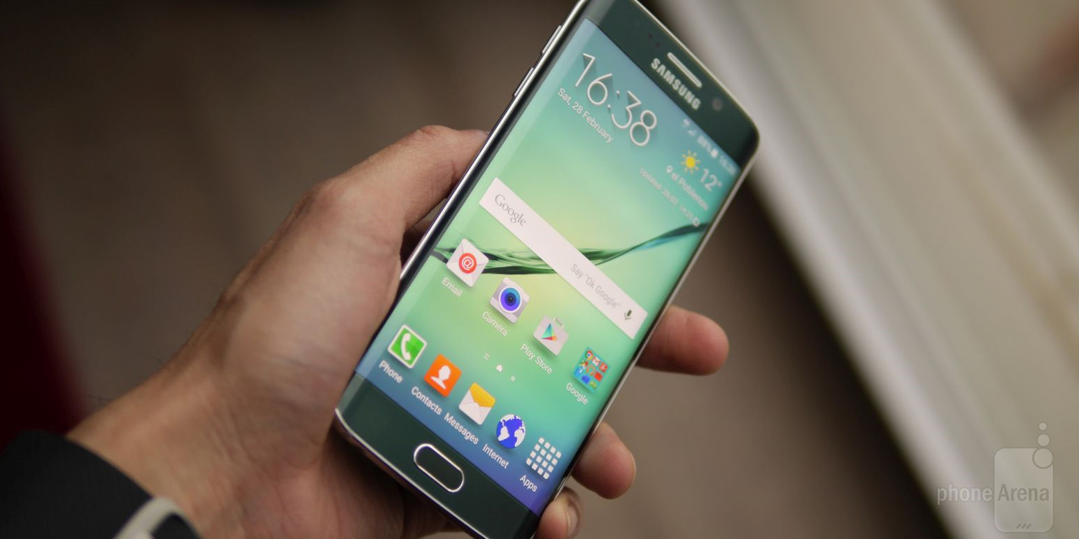 Samsung Galaxy S6 Edge officiel !