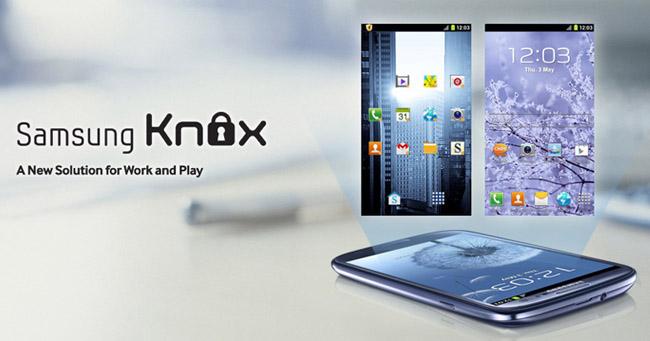 Samsung Knox, un prix au MWC