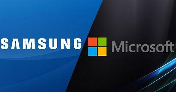 samsung microsoft partenariat