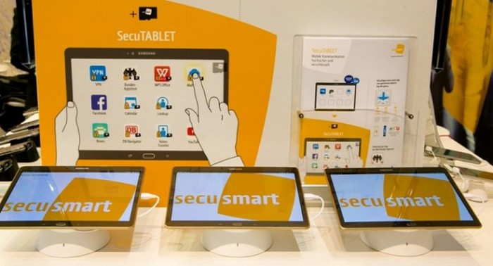 blackberry CeBIT secutablet
