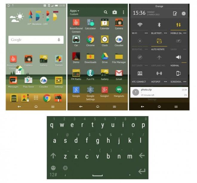 HTC Sense 7 theme Pastorale