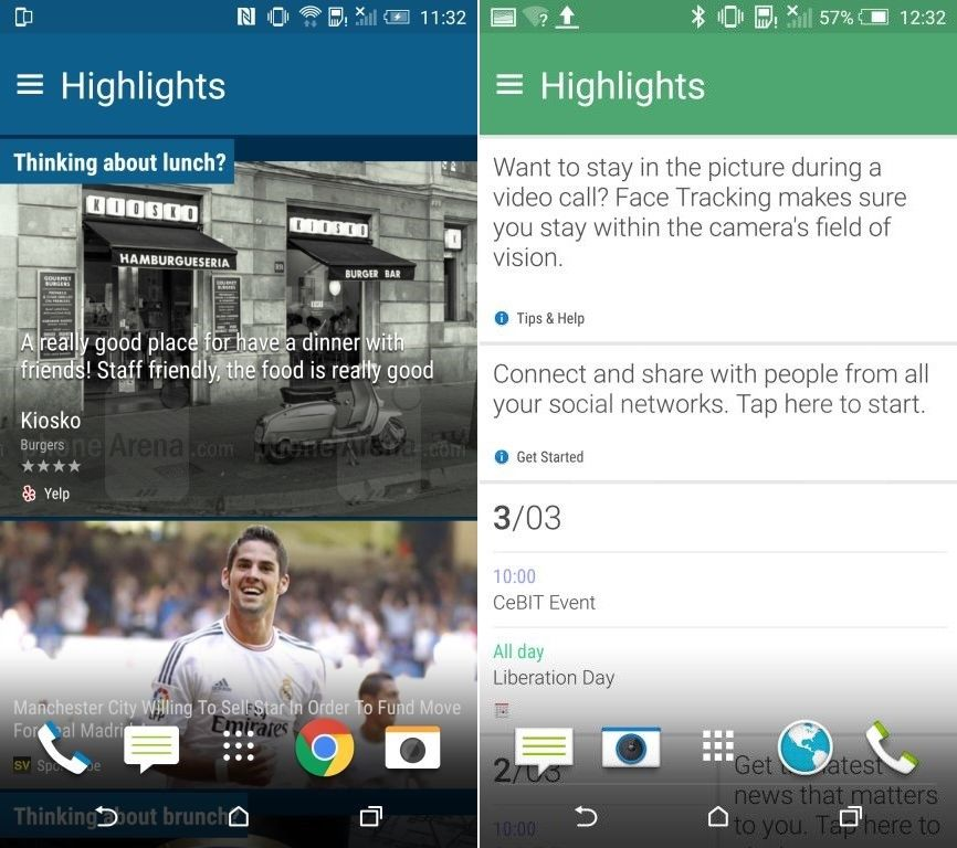HTC One M9 HTC Sense 7 actualités