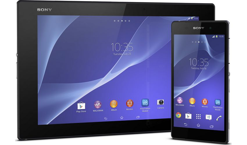 Sony xperia Z2 Android Lollipop