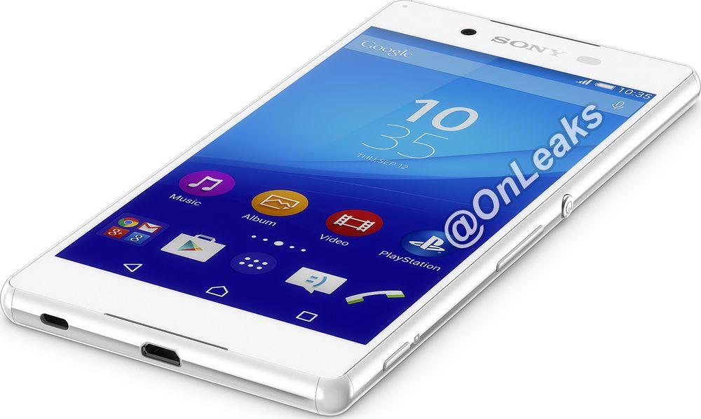 Sony Xperia Z4 face