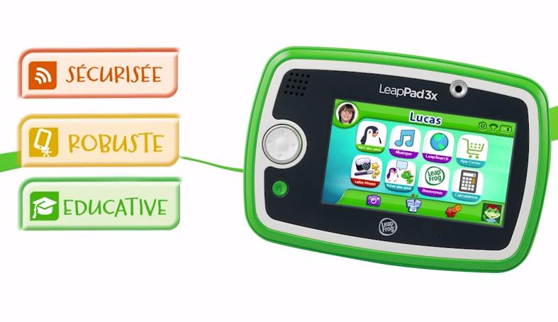 tablette leapfrog leappad x3