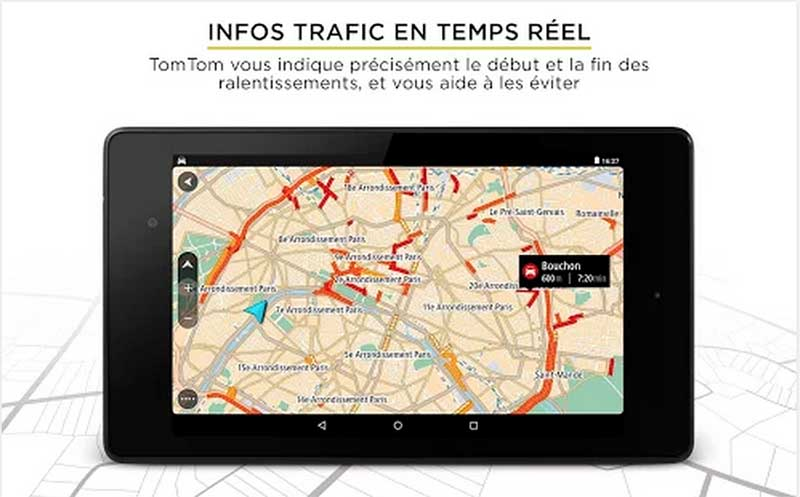 tomtom navigation gps gratuit android