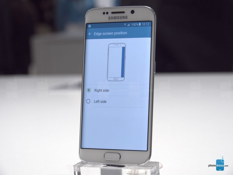 Galaxy S6 Edge choisir tranches