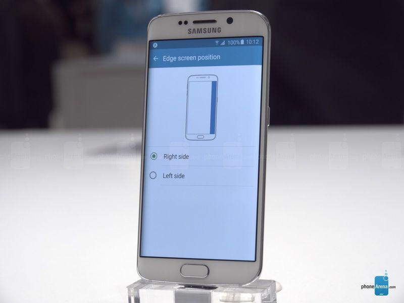 Galaxy S6 Edge choisir tranches