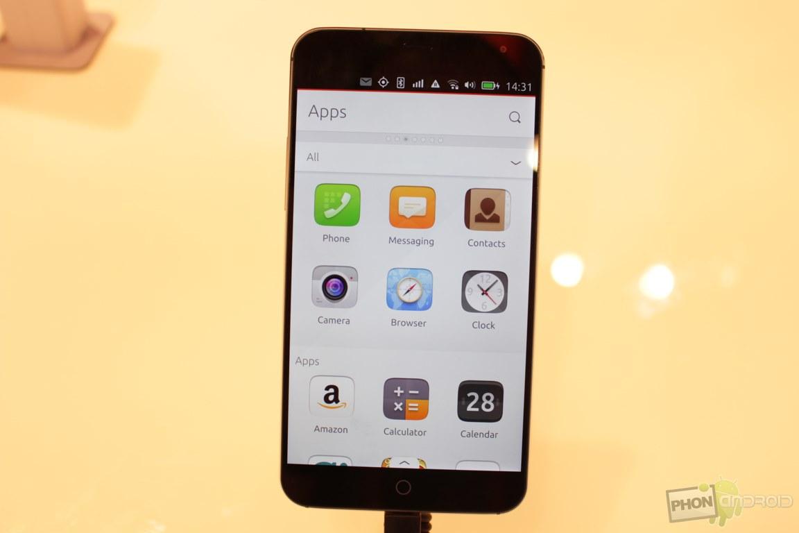 Ubuntu Touch sur le MX4, les applis