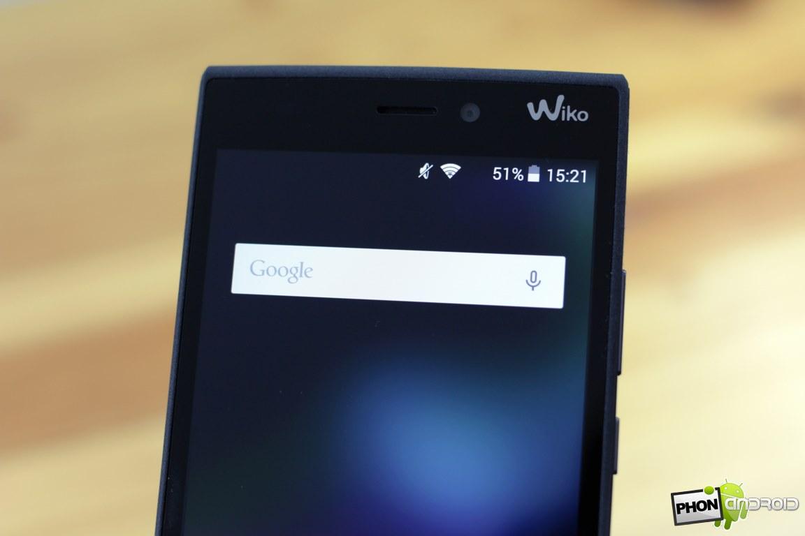 wiko ridge 4g camera