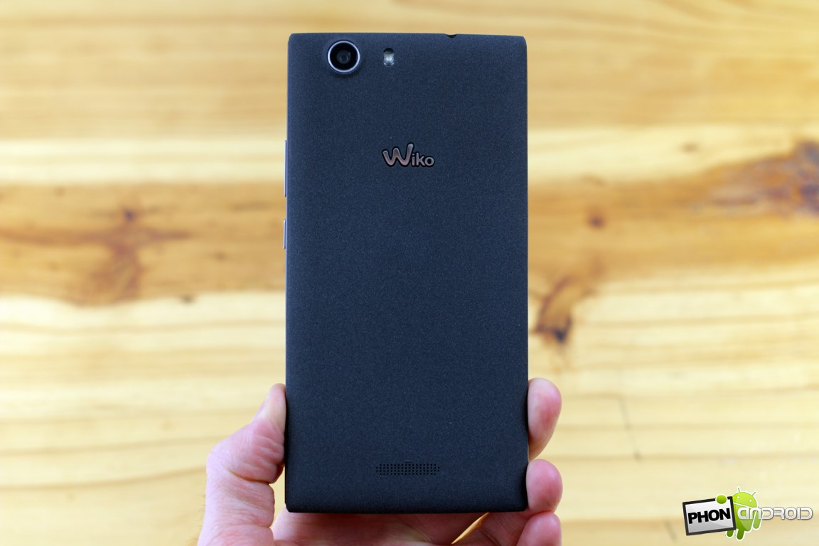 wiko ridge 4g design