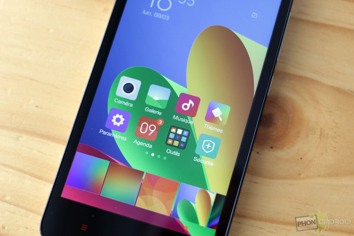 xiaomi redmi 2 definition ecran