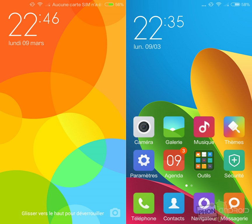xiaomi redmi 2 interface miui