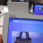 Xperia Z4 Tablet, écran 2K