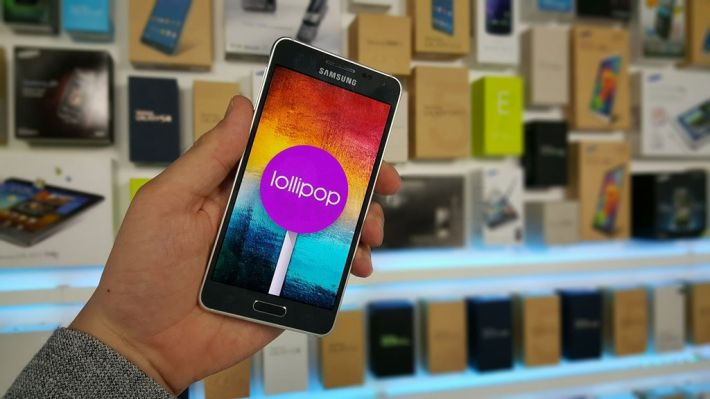 Galaxy Alpha mise a jour Lollipop