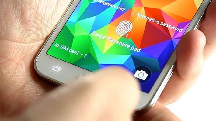 Galaxy S5 lecteur empreintes