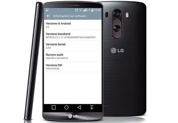 mise a jour LG G3