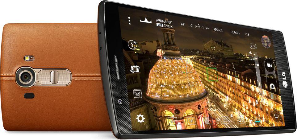LG G4 ecran capteur photo